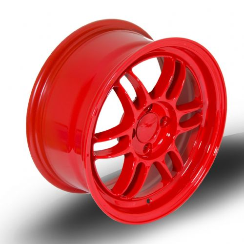 356 Wheels TFS3 15x7 ET38 4x100 Red